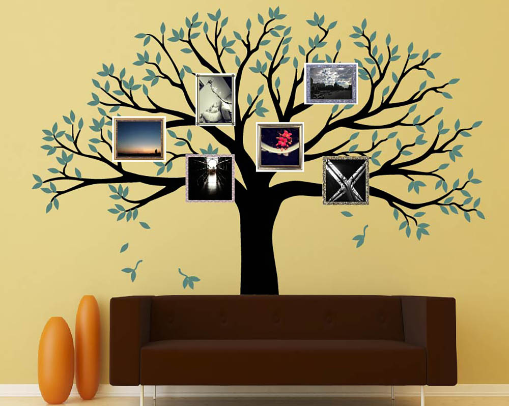 Family Tree Wall Decals Vinyl Wall Art Stickers